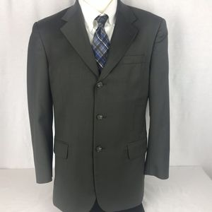 Jos A Bank Corporate Mens 40R Olive Sport Coat